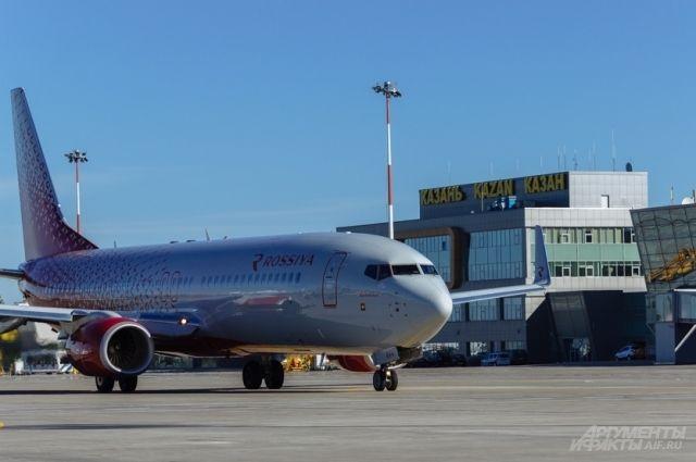 Ваэропорту Казани задержали вылет 12 рейсов