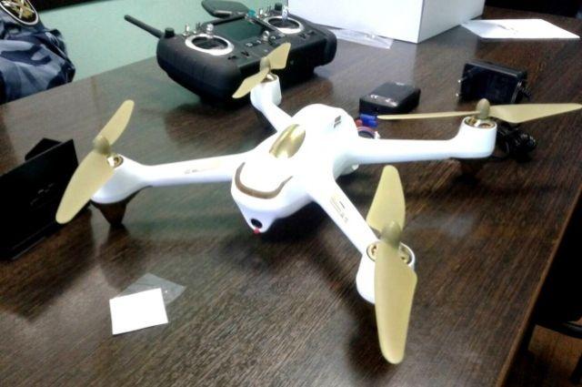Беспилотный летательный аппарат должен был доставлять грузы заключённым