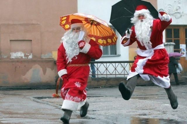 В Украине перед Новым годом ожидаются дожди