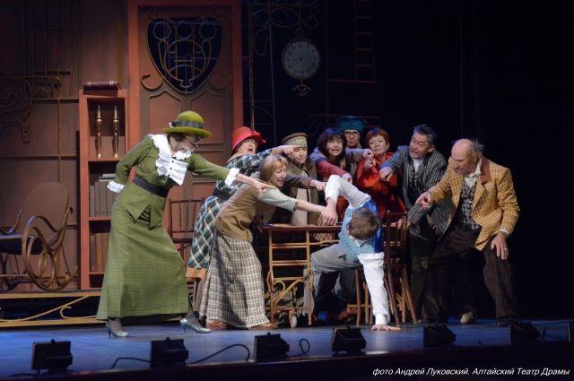 Спектакль в драмтеатре Барнаула