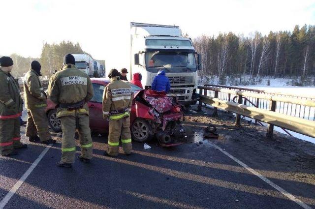 Из-за нетрезвого  водителя фуры наМ-5 погибла семилетняя девочка