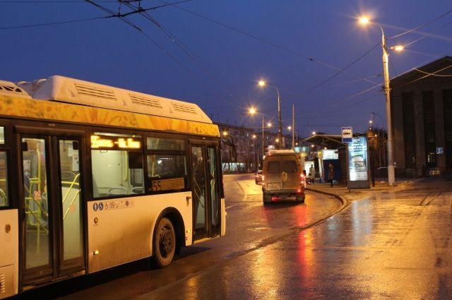 Автобусы развезут пермяков после новогодних гуляний.