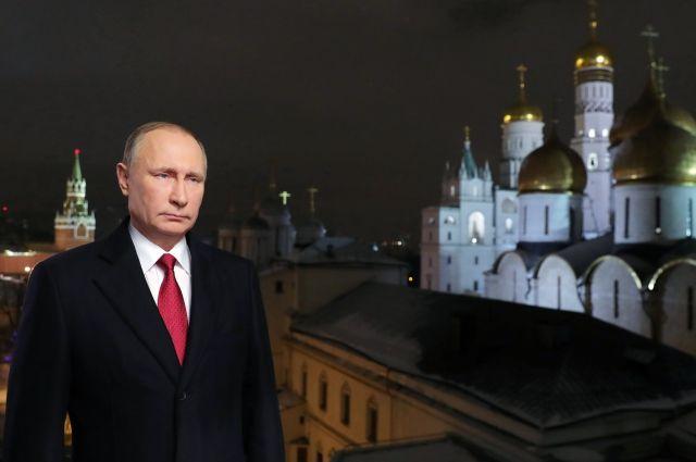 Путин поздравил программу «Время» сюбилеем