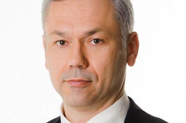 Андрей Травников руководит регионом  с октября 2017-го.