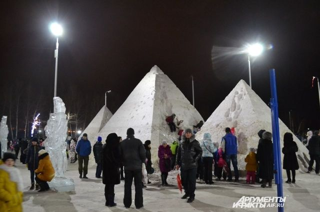 Пермяки заняли призовые места наконкурсе «Волшебный лёд Сибири»