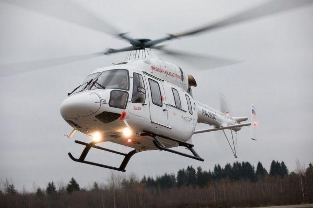 На трагедию у«Меги Парнас» прилетел вертолет