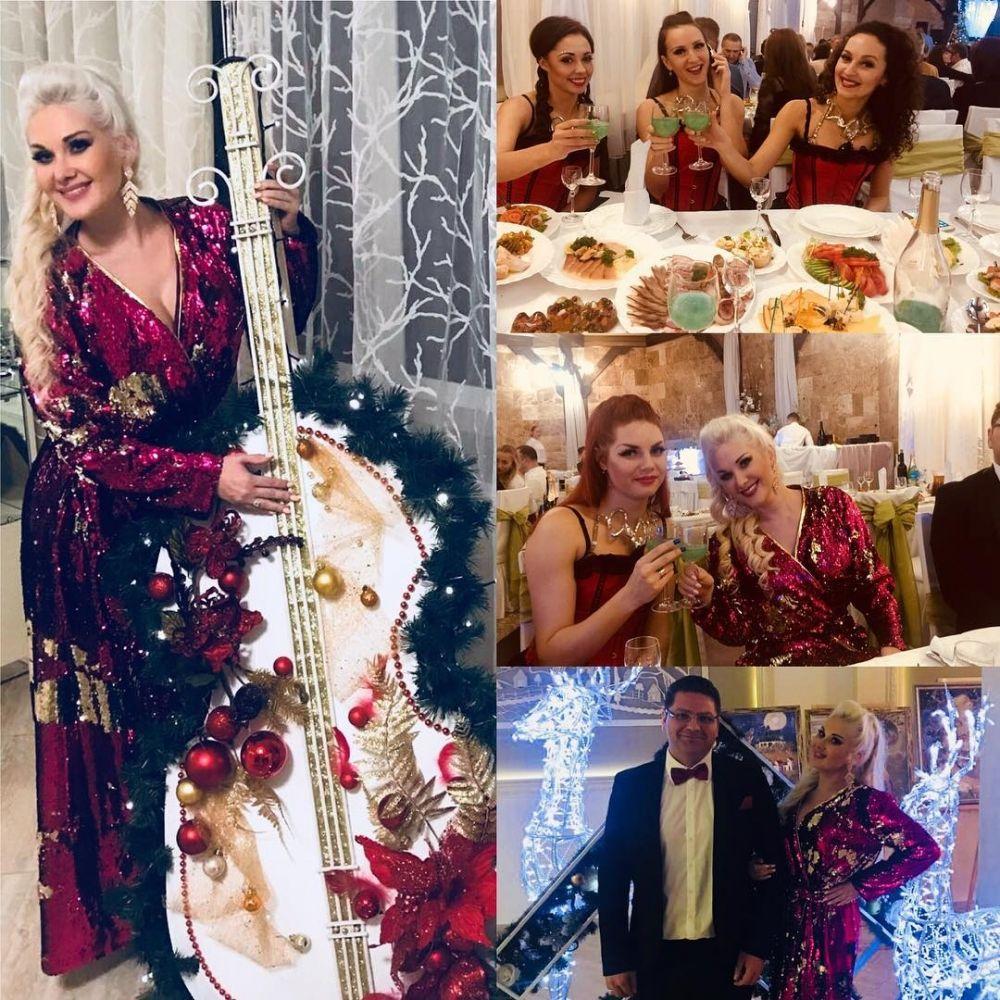 Екатерина Бужинская отмечала Новый год в Трускавце вместе со своим супругом и детьми.