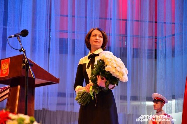 Оксана Фадина лично посетила роддом.