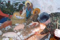 Под Тюменью пройдет святочное шествие к снежному рождественскому вертепу