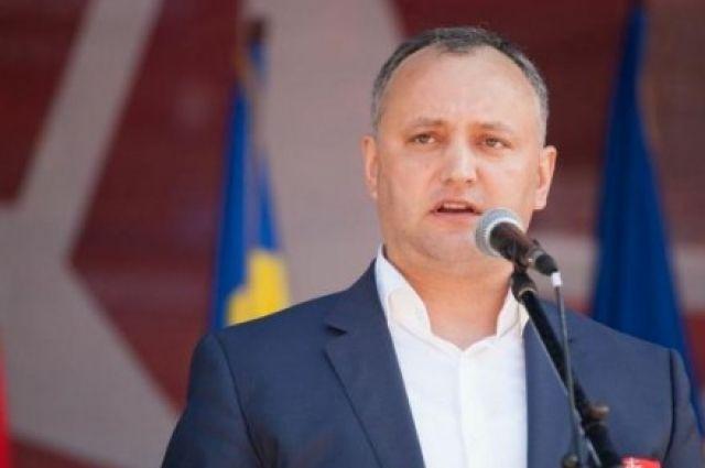 КСМолдавии отстранил Додона иназначил врио президента