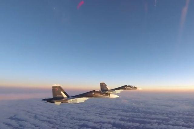 Лётчики ВВС Дании сменят американцев вдежурстве над небом Прибалтики