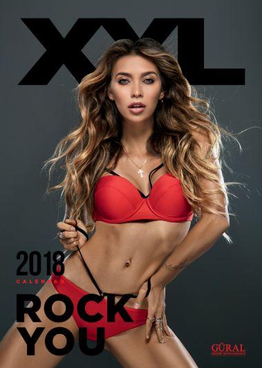 Телеведущая Регина Тодоренко украсила собой обложку календаря XXL