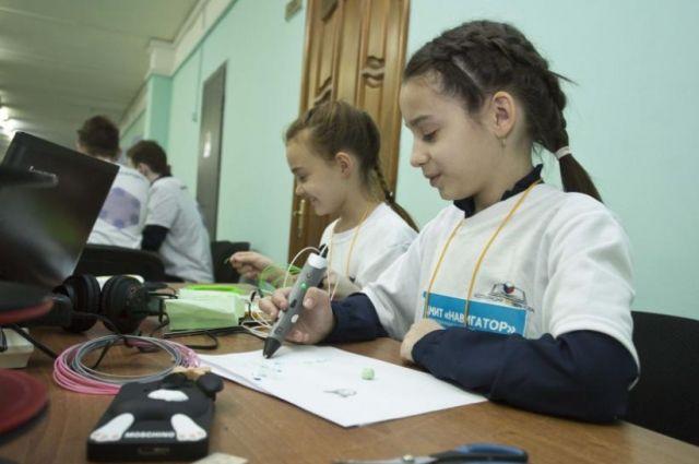 Тюменские дети конструируют роботов и строят 3D-модели