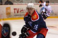 Иван Переверзев на Кубке мира по университетскому хоккею.