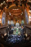 Рождественское богослужение в храме Христа Спасителя в Москве.