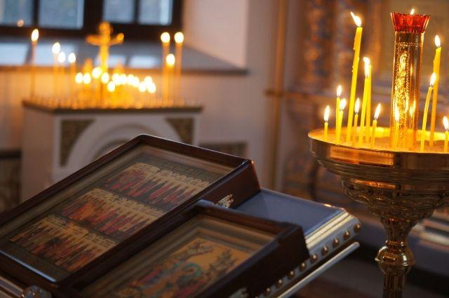 В ночь с 6 на 7 января была записана трансляция Рождественского ночного богослужения.