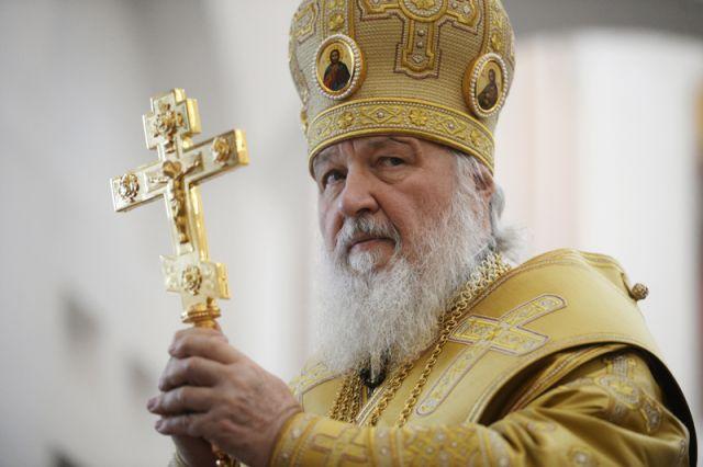 Патриарх Московский ивсея Руси Кирилл приветствовал всех сРождеством