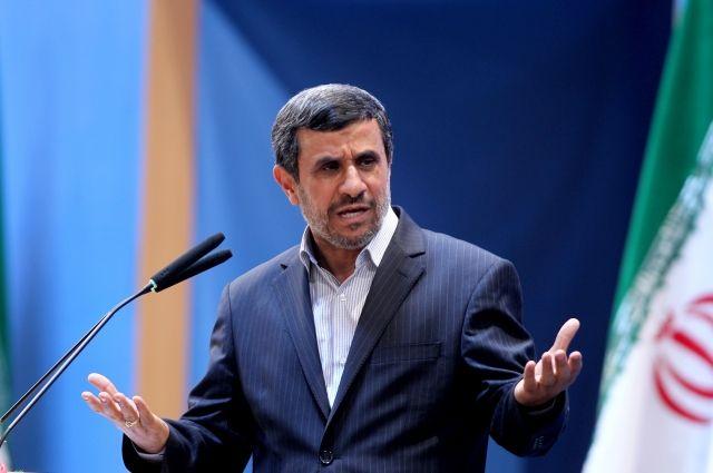 ВИране арестован экс-президент Ахмадинежад