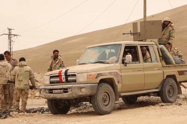 Сирийские войска наступают напозиции террористов наюге провинции Идлиб