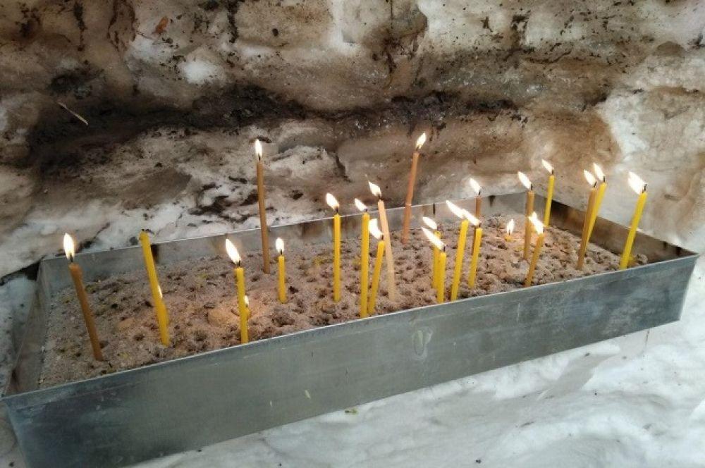 Тюменцы посетили по традиции сразу несколько храмов