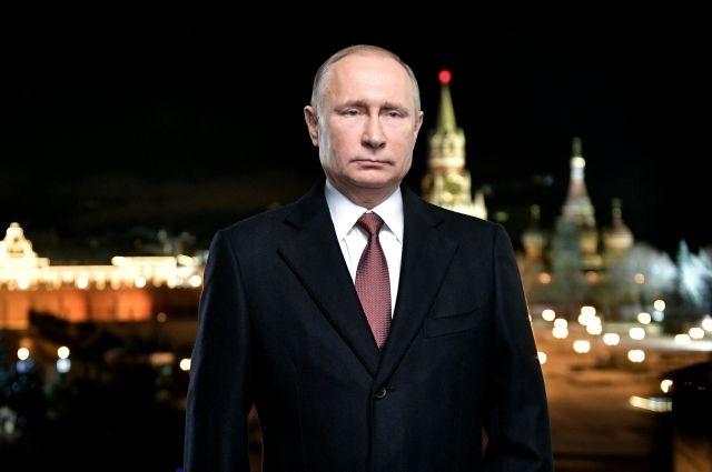 Обращение В. Путина стало самым рейтинговым вновогоднем телеэфире
