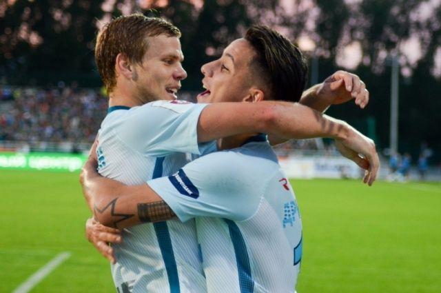 Болельщики «Зенита» признали гол Ивановича лучшим в1-й части сезона