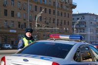 Полиция выехала на место аварии.