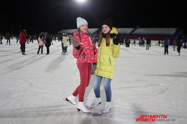 В Оренбурге состоится традиционный «Вечер на коньках».