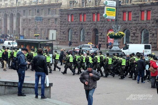 Теперь напряжённость ощущается даже в воздухе украинской столицы.