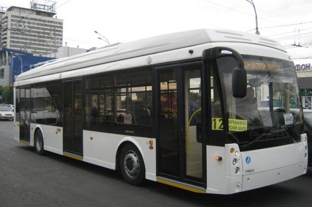 Наюго-западе Петербурга сломался новый троллейбус наавтономном ходу