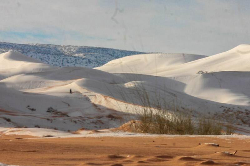 Напомним, что пустыня Сахара - крупнейшая на Земле, она занимает приблизительно девять миллионов квадратных километров.