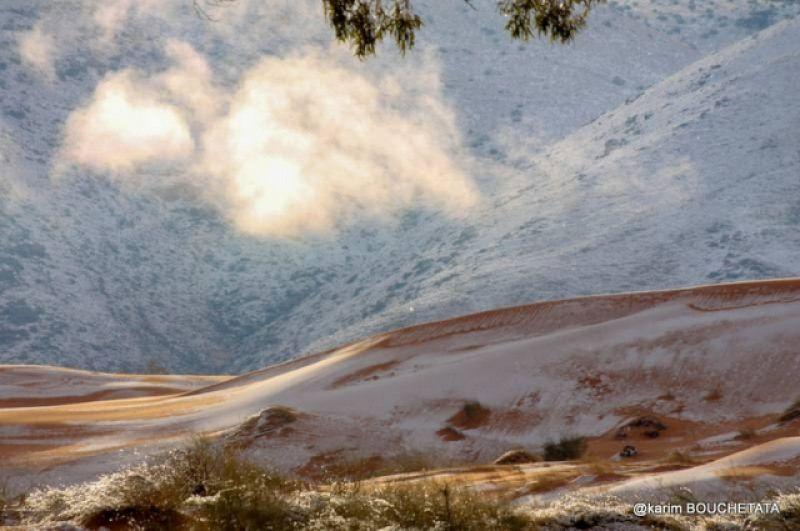 Толщина снежного покрова составляла 40 сантиметров