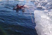 В Новосибирске немало поклонников холодового плавания