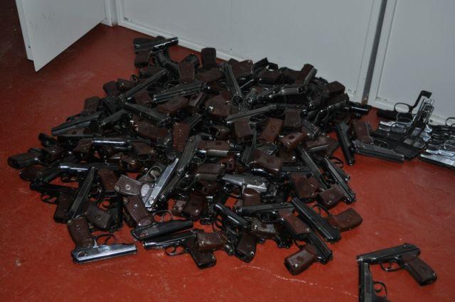 Почти 90 тысяч рублей получили приморцы за сданное оружие