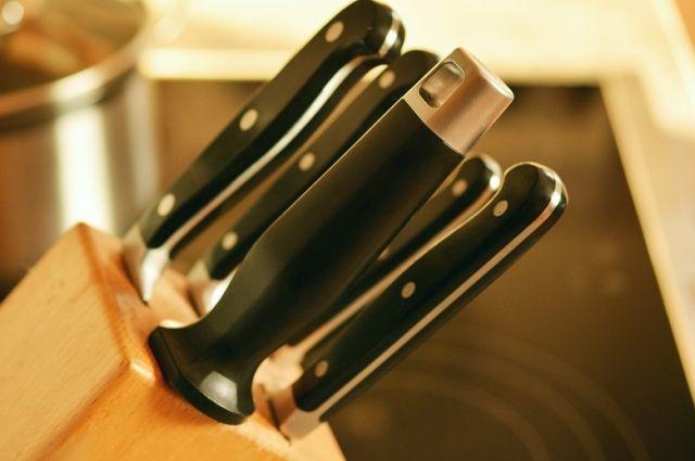 Кухонный нож часто становится орудием преступления.