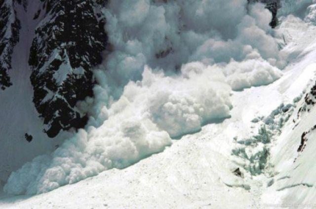 Синоптики предупреждают осхождении лавин 9января