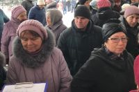 Жители активно ставили подписи под обращением к городским властям.