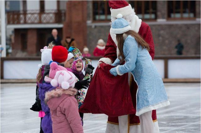 Искусственный ледовый каток в Нижнем Новгороде будет работать до весны.