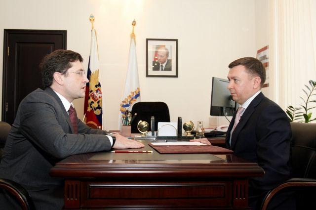 Глеб Никитин и Сергей Баринов.