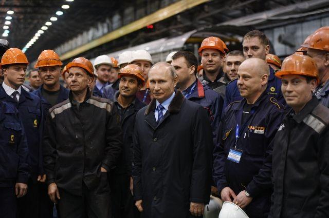 Срабочей поездкой вТверь приедет Президент РФ Владимир Путин