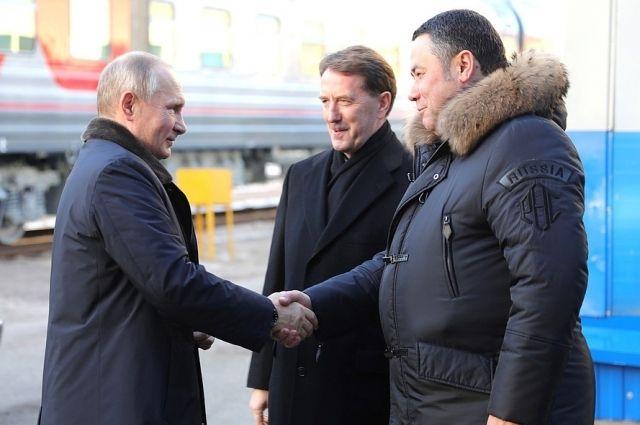 «Мост через Волгу должен быть»: Путин вТвери