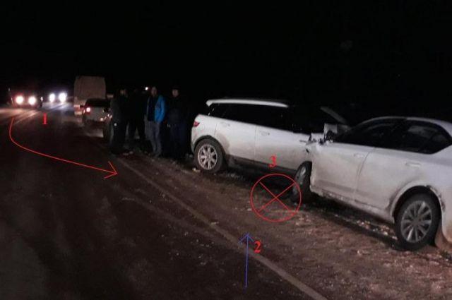Три человека пострадали вДТП с 2-мя иномарками наСтаврополье