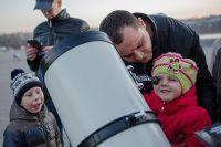Иркутяне очень хорошо откликаются на городские астрономические акции.