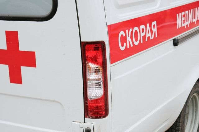 Потерпевшую с ранением доставили в больницу.