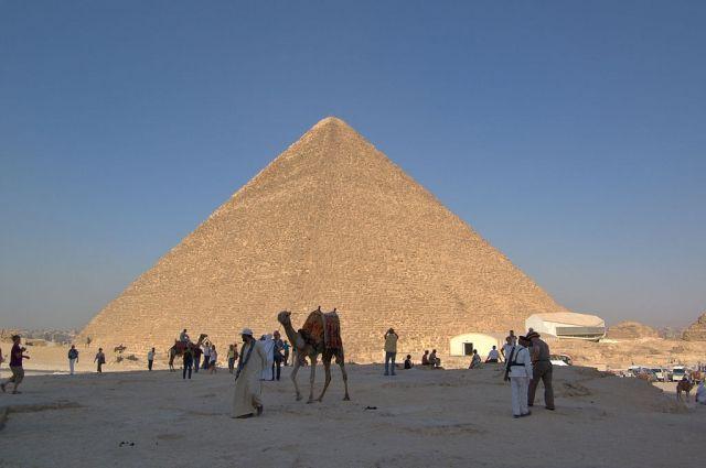 Ученые узнали, что скрывается втайной комнате пирамиды Хеопса