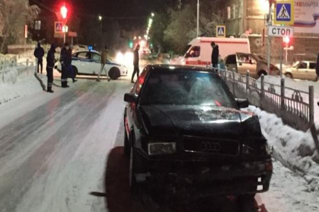 В Салехарде в ДТП пострадала женщина