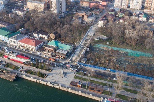 ВРостове-на-Дону строительство Казанской лестницы неуспели закончить всрок