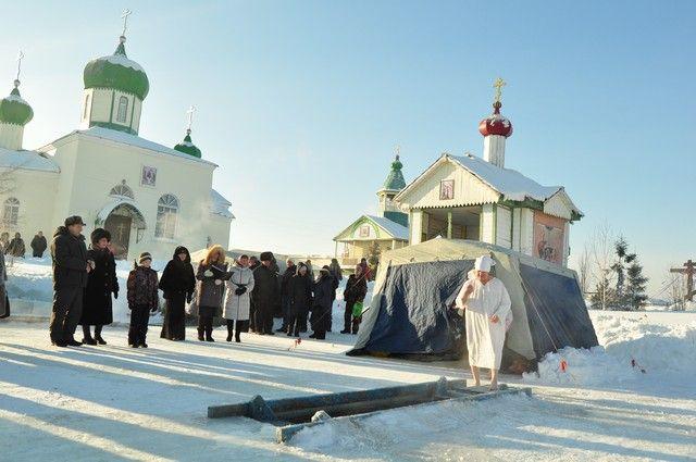 Какая погода будет на Крещение В Омске в 2018 году?