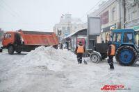 Собственников территорий призвали своевременно вывозить снег.