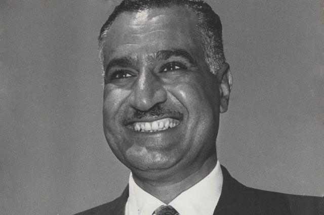 Гамаль Абдель Насер.